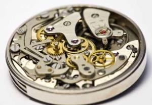 Uhrwerk einer Automatikuhr