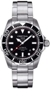 Certina Herren-Armbanduhr XL Analog Automatik Edelstahl C013.407.11.051.00 -