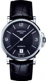 Certina Herren-Armbanduhr XL Analog Automatik Leder C017.407.16.057.01 -
