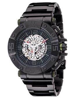 Detomaso Herren-Armbanduhr Machineer Analog Automatik Edelstahl DT-ML102-B -