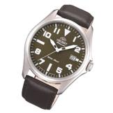 Orient Uhr Classic Automatik Datum Lederband Herrenarmbanduhr klassische Uhr FER2D009F0 -