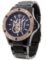 DETOMASO Herren-Armbanduhr Man Carrara Analog Automatik DT1018-B -