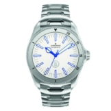 Junghans Herren-Armbanduhr XL Bogner Willy Blue Automatlc Analog Automatik Edelstahl 027/3210.44 -