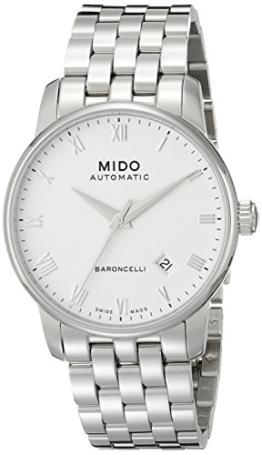 MIDO Herrenuhren-Automatikuhr Baroncelli Ii Herrenuhr Ø 38mm  M86004261 -