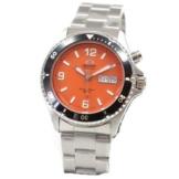 Orient Herren-Armbanduhr Analog Automatik Edelstahl EM651M -