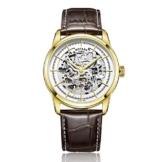 Rotary GS00345/02 Herren-Armbanduhr Analog Automatik Leder -