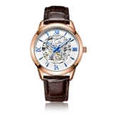 Rotary Herren-Armbanduhr Analog Automatik Leder - GS00653/21 -