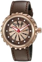 Stuhrling Original 726.04 Herren-Armbanduhr Analog Automatik Leder -