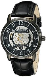 Stuhrling Original 970.04 Herren-Armbanduhr Analog Quarz Leder -