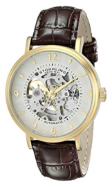 Stuhrling Original Herren-Armbanduhr Man Analog Automatik 647.02SET -