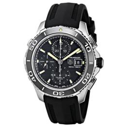 Tagheuer Herren-Armbanduhr Chronograph Automatik Kautschuk CAK2111.FT8019 -