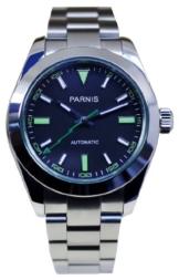 PARNIS PARNIS 20184260195920002–Armbanduhr Herren, Armband in Edelstahl - 1